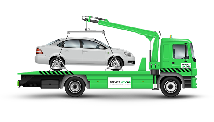 Book a Car Recovery service at servicemycar.ae